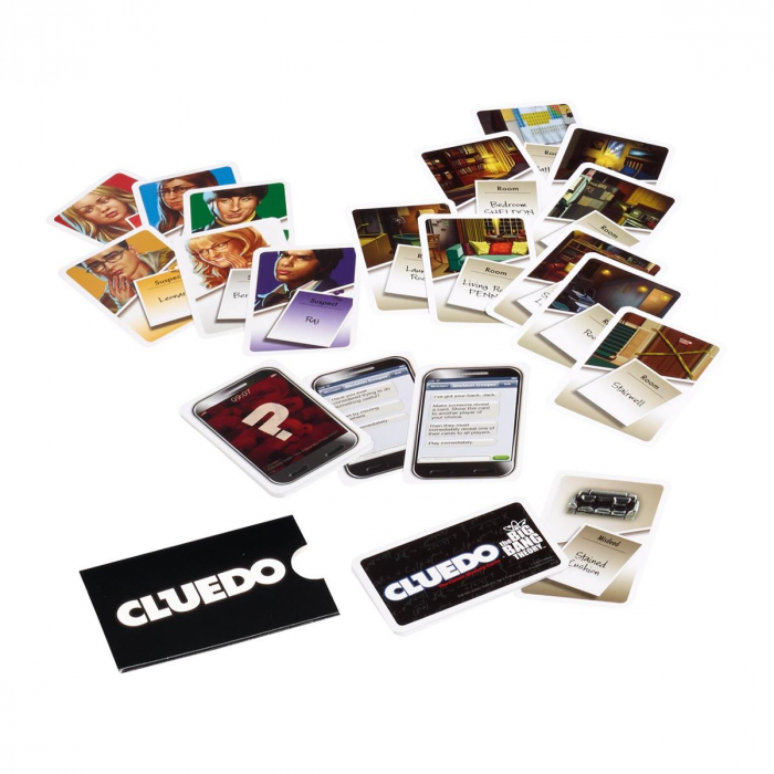 Joc Cluedo - The Big Bang Theory 2