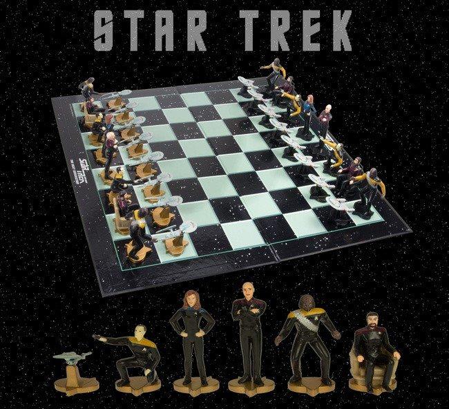 """Joc de sah """"Star Trek"""" 0"""