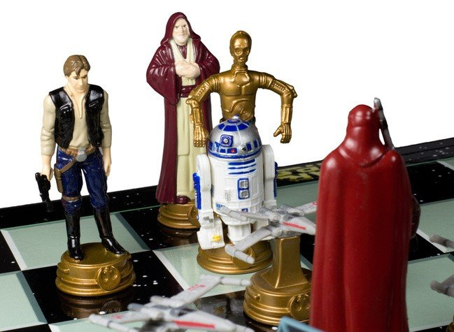 "Joc de sah ""Star Wars"" [2]"