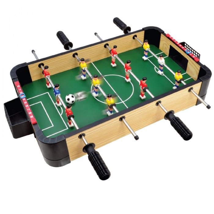 Joc Fotbal de masa din lemn
