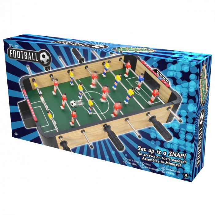 Joc Fotbal de masa din lemn 1