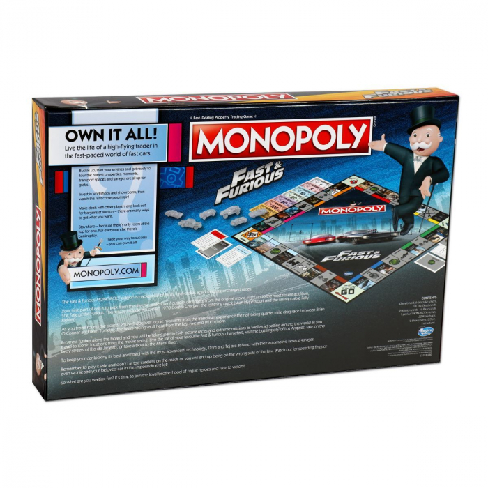 Joc Monopoly - Fast & Furious [2]
