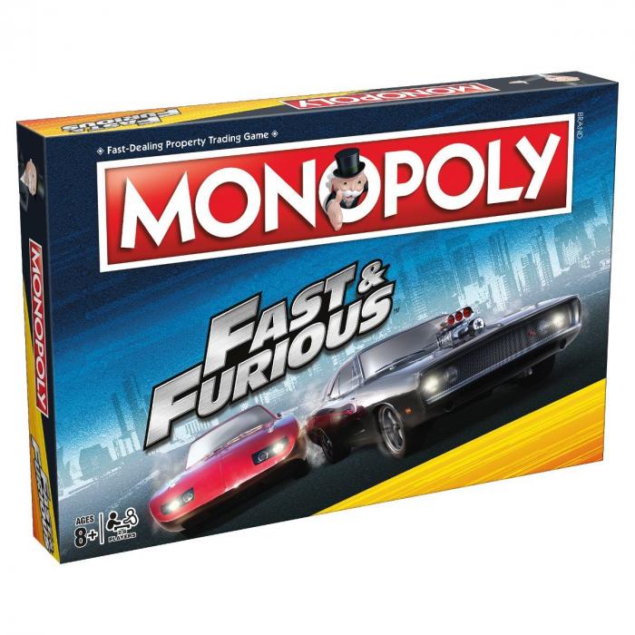 Joc Monopoly - Fast Furious