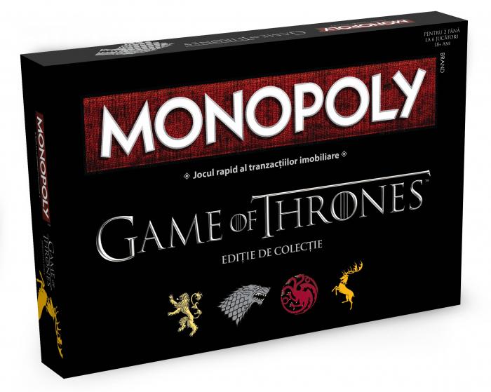 Joc Monopoly - Game of Thrones 0