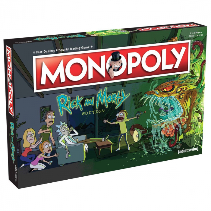 Joc Monopoly - Rick and Morty 0