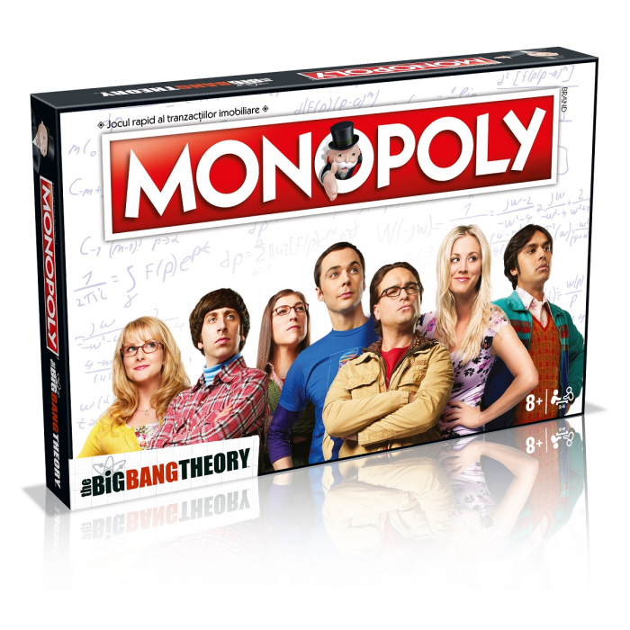 Joc Monopoly - The Big Bang Theory - RO 0