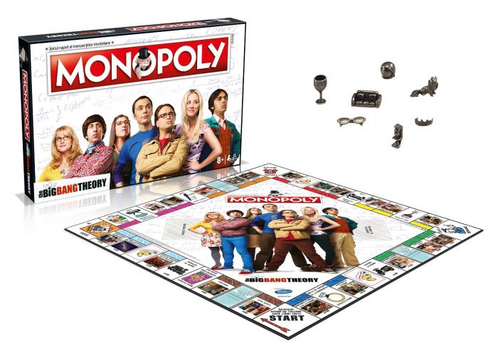 Joc Monopoly - The Big Bang Theory - RO 1