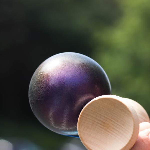 Kendama USA Custom Kaizen - Purple Rain 2