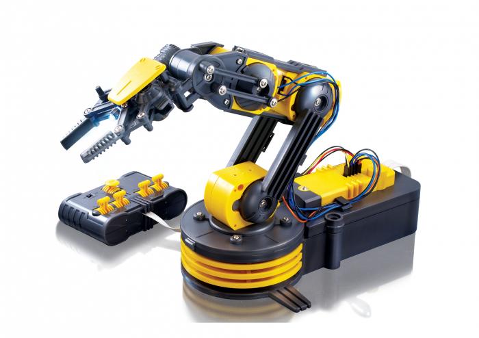 Kit constructie brat robotic cu telecomanda