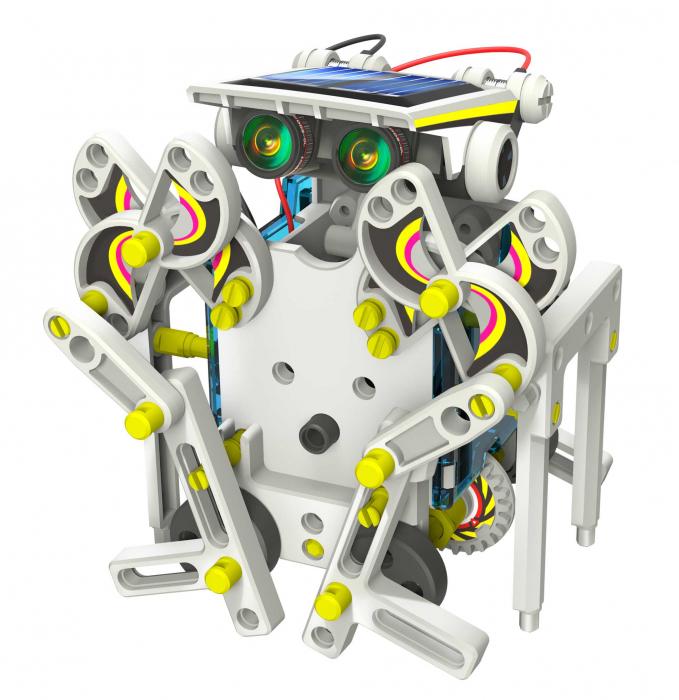 Kit robotica de constructie Roboti Solari 14 in 1 (RO) [12]