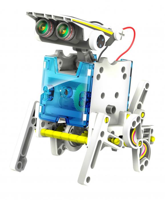 Kit robotica de constructie Roboti Solari 14 in 1 (RO) [2]