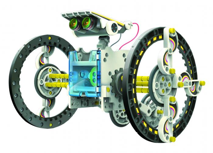 Kit robotica de constructie Roboti Solari 14 in 1 (RO) [14]