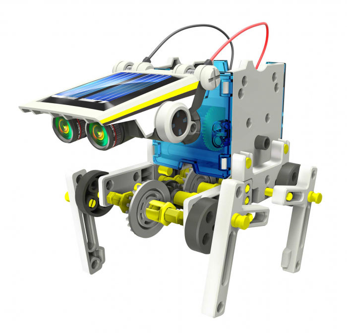 Kit robotica de constructie Roboti Solari 14 in 1 (RO) [8]