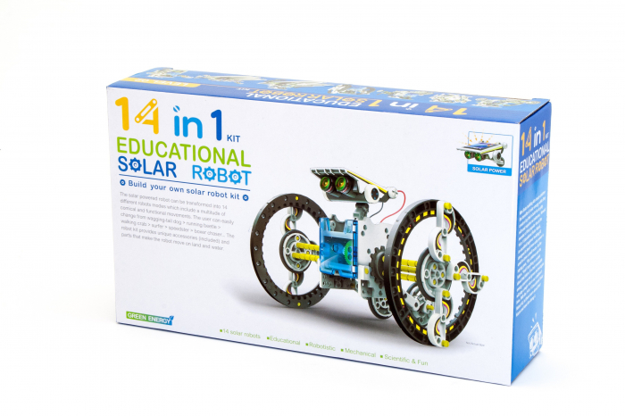 Kit robotica de constructie Roboti Solari 14 in 1 (RO) [7]