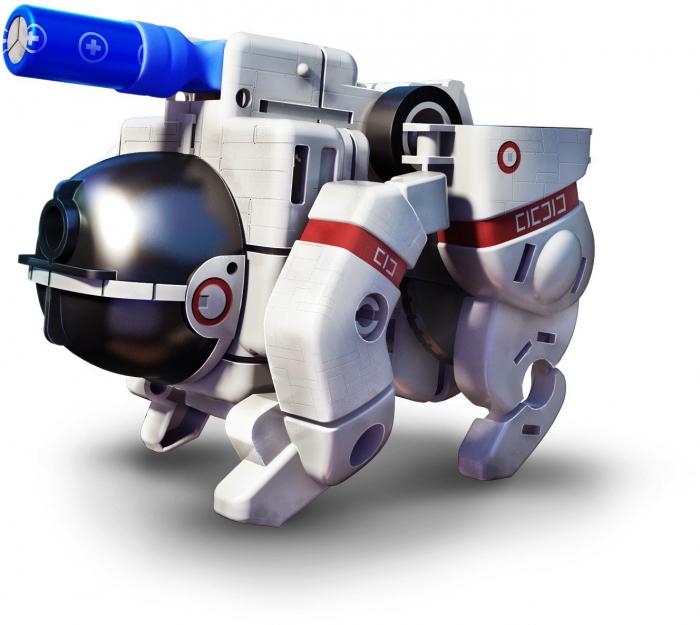 Kit constructie Roboti Spatiali 7 in 1 [7]