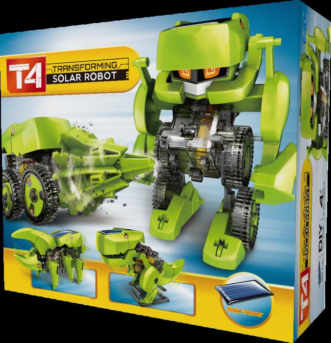 Kit constructie T4 Roboti solari 4 in 1 [5]