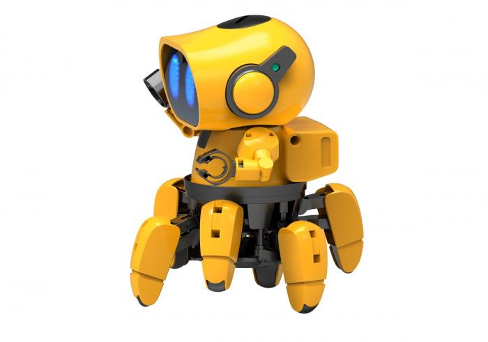 Kit robotica de constructie Robot Tobbie cu inteligenta artificiala (RO) [2]