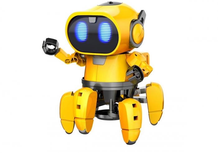 Kit robotica de constructie Robot Tobbie cu inteligenta artificiala (RO) [3]