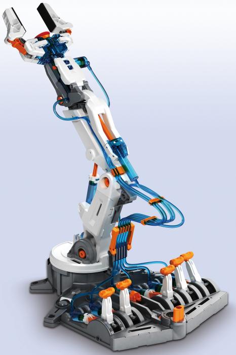 Kit robotica constructie brat hidraulic 0