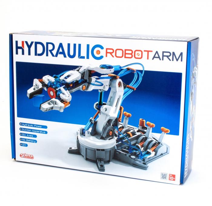 Kit robotica constructie brat hidraulic 2