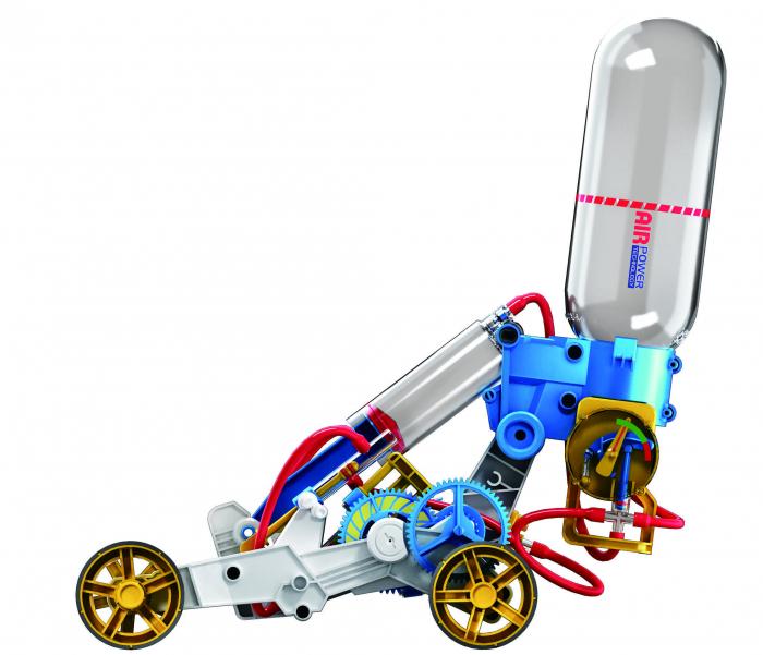 Kit robotica de constructie masina cu motor pe aer [4]