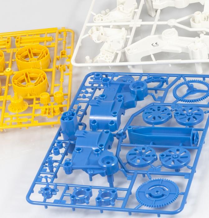 Kit robotica de constructie masina cu motor pe aer [3]