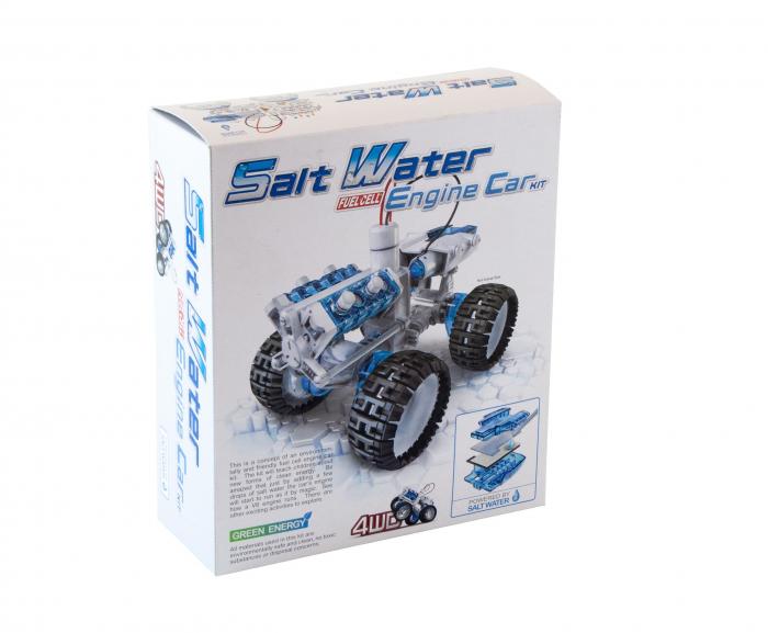 Kit robotica - Masina 4 x 4 cu motor pe apa sarata 1