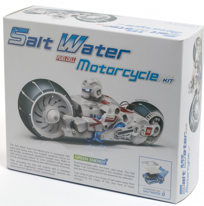 Kit Robotica - Motocicleta pe baza de apa sarata [2]
