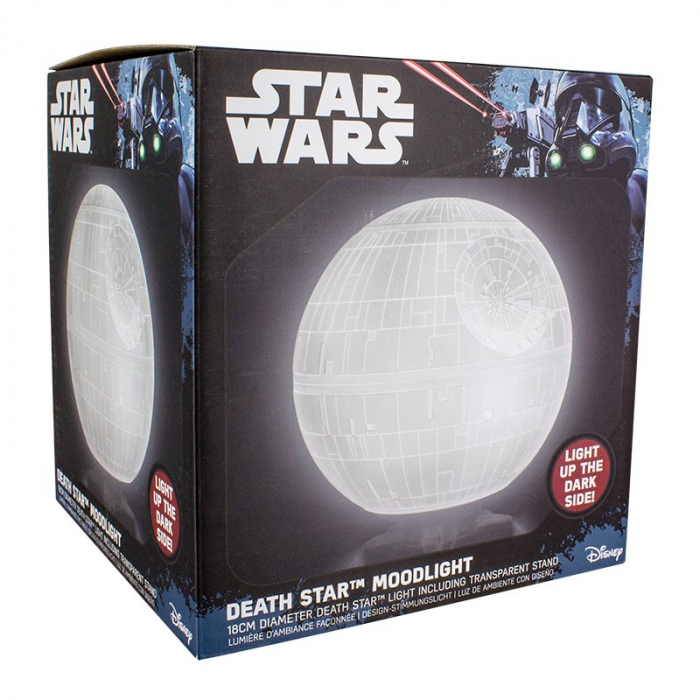 Lampa 3D Star Wars - Death Star 1