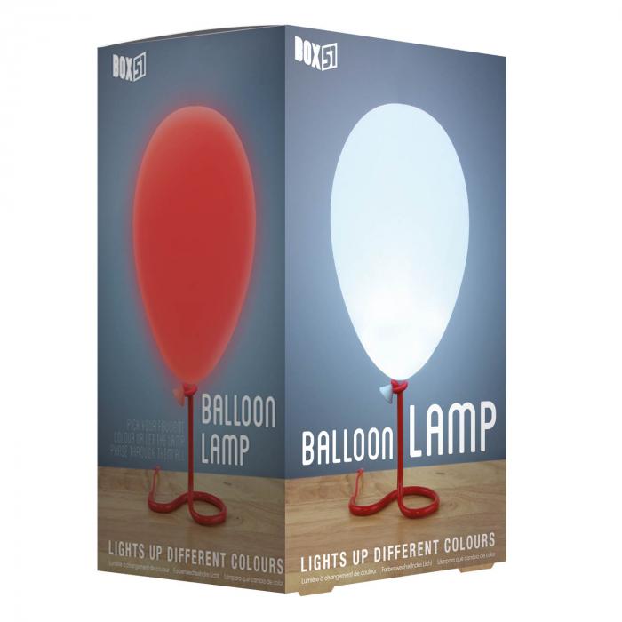Lampa balon cu lumini multicolore 1