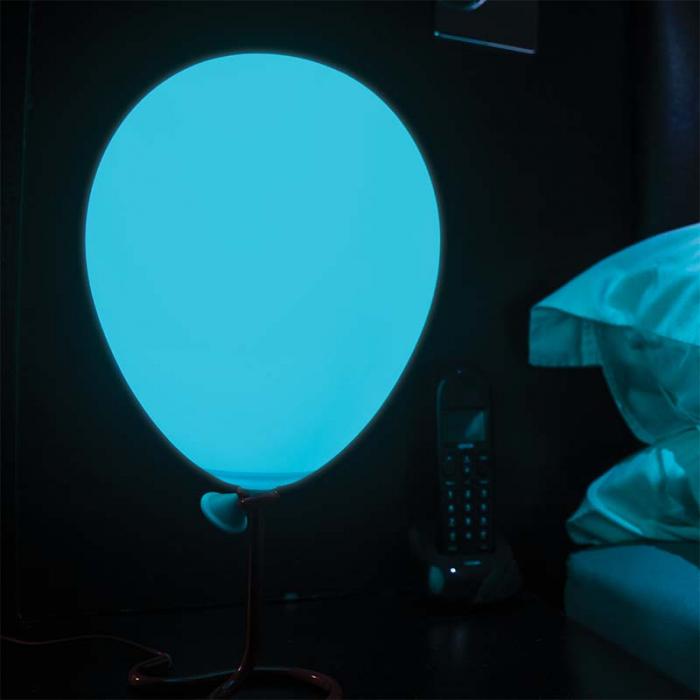 Lampa balon cu lumini multicolore 0