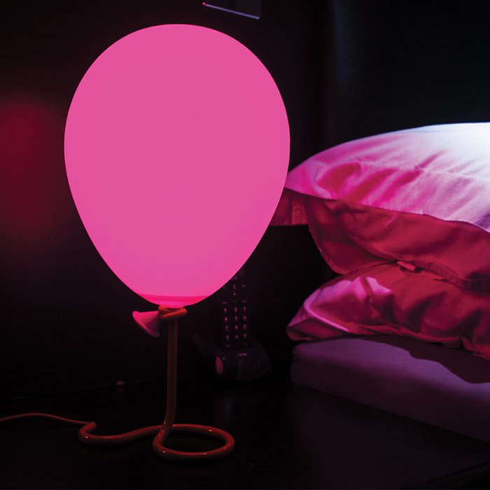 Lampa balon cu lumini multicolore 2