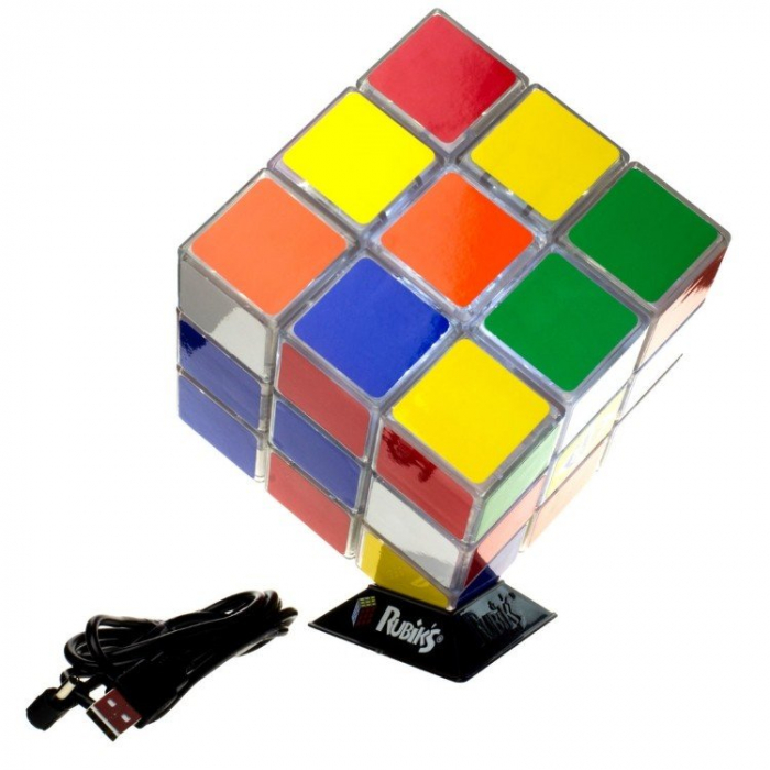 Lampa Cubul lui Rubik 3