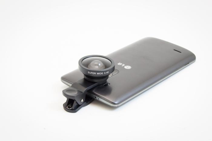 Lentile adaptoare pentru smartphone Wide Angle 1