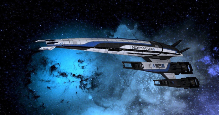 Mass Effect - SR2 Normandy 1