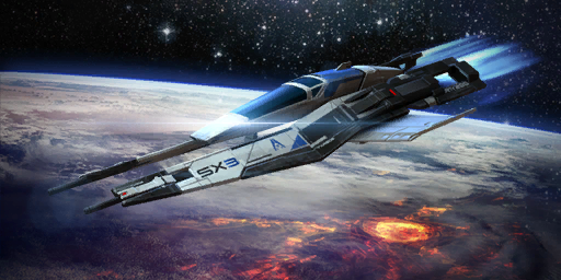 Mass Effect - SX3 Alliance Fighter 1