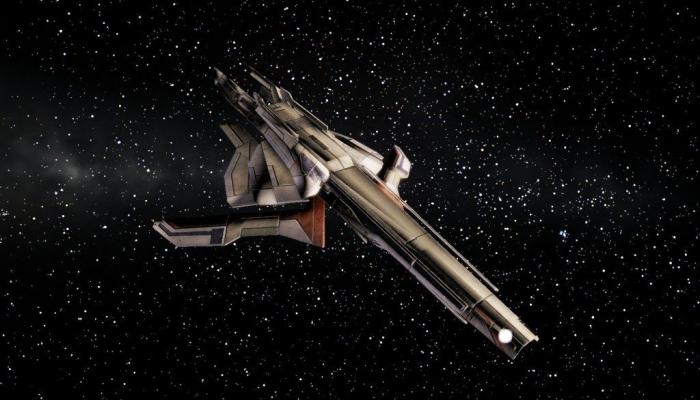 Mass Effect - Turian Cruiser [1]