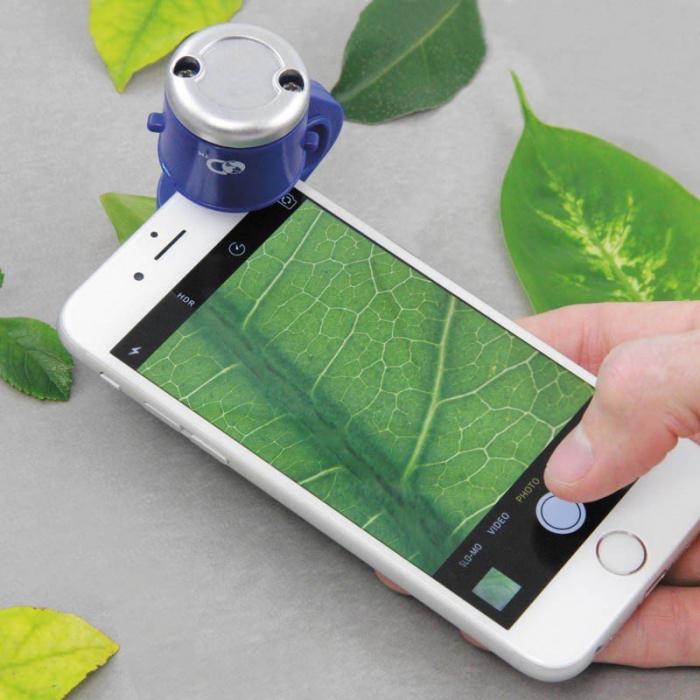 Microscop pentru telefon Discovery Channel 0