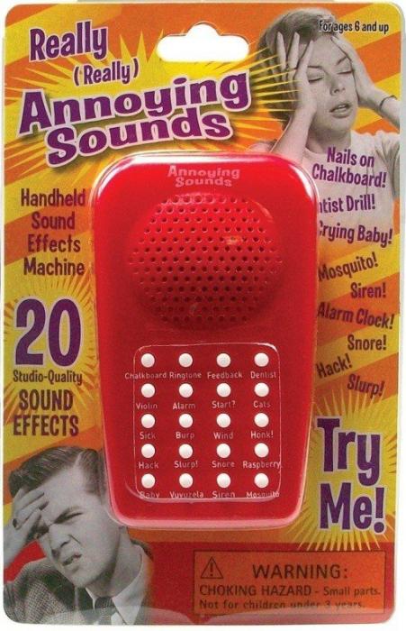 Mini-aparat de produs sunete enervante 0