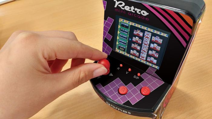Mini Joc Arcade pentru Birou - 240 in 1