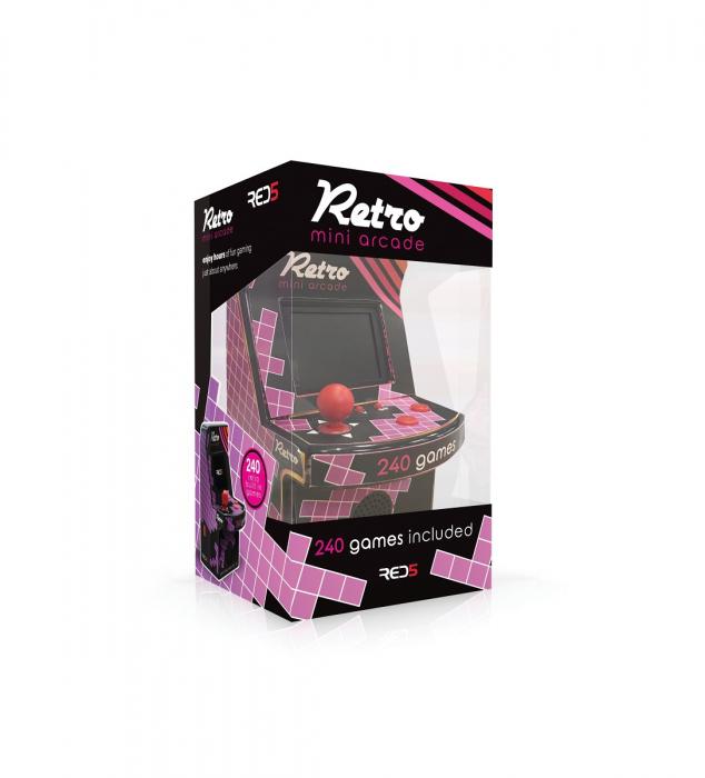 Mini Joc Arcade pentru Birou - 240 in 1 1
