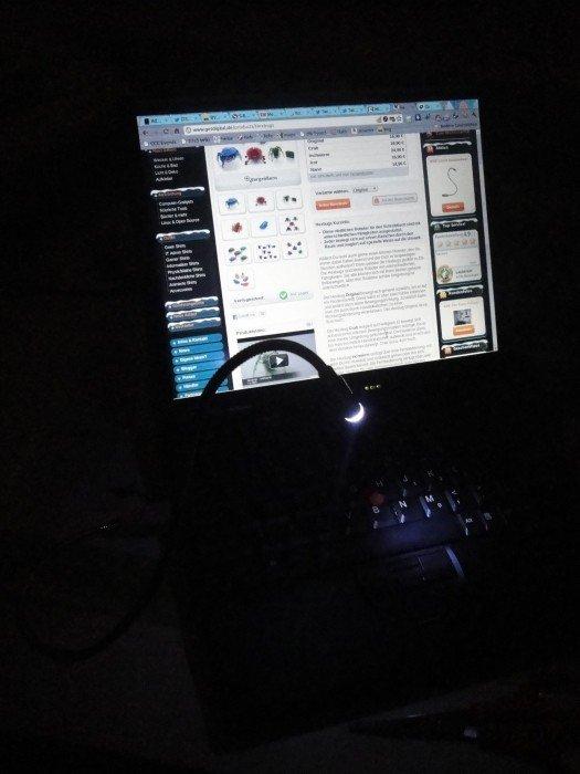 Mini Lampa Flexibila USB [1]