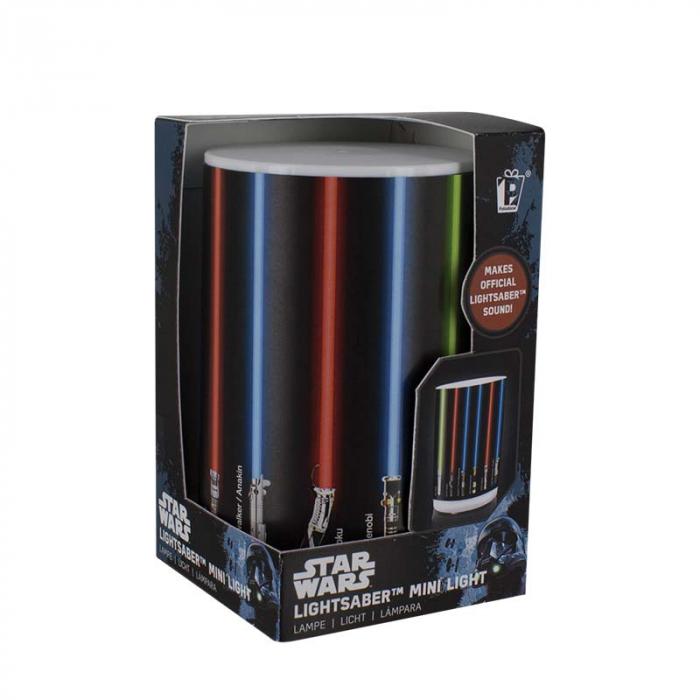Mini Lampa Star Wars cu sabii laser 2