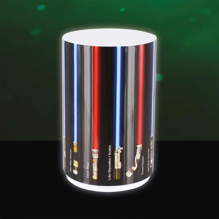 Mini Lampa Star Wars cu sabii laser 3