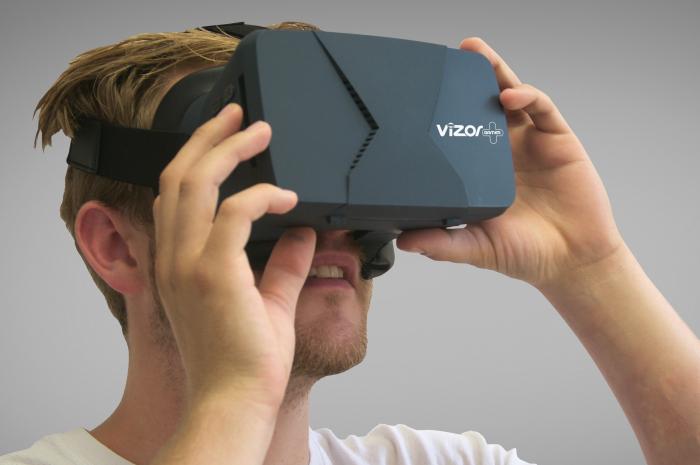 Ochelari Realitate Virtuala Vizor pentru Gameri
