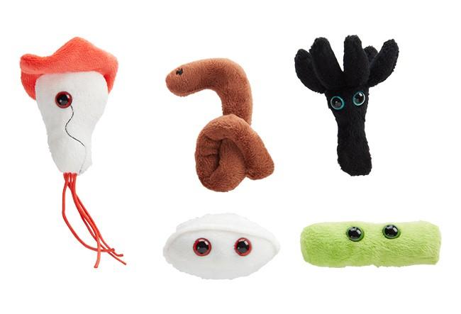 Pachet 5 mini microbi Pericol biologic [1]