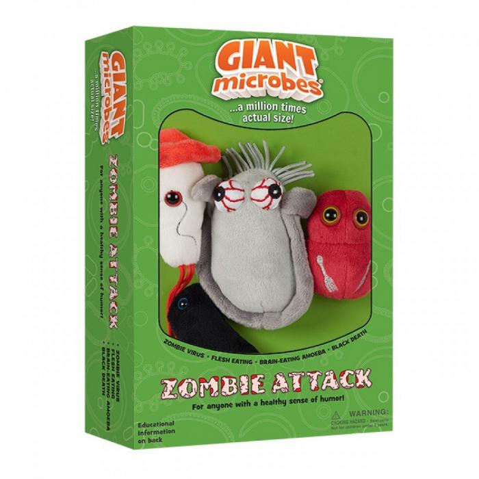 Pachet cu 4 microbi varianta Atacul Zombilor