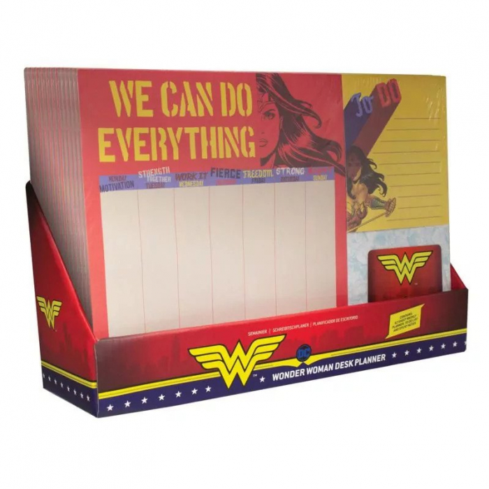Planner de birou Wonder Woman 2
