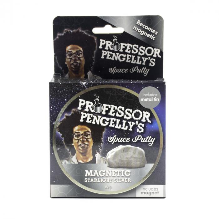 Plastilina Inteligenta Magnetica - Argintie 1