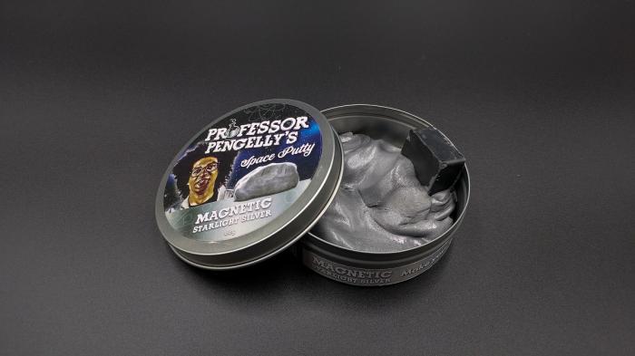 Plastilina Inteligenta Magnetica - Argintie 0
